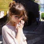 伊達メガネを使ってコーデしよう!絶対おしゃれになれるアイテム!のサムネイル画像