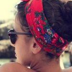 【バンダナファッション】バンダナを使ったコーデがトレンド!のサムネイル画像