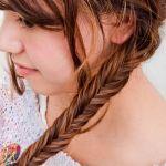 フィッシュボーンの髪型がかわいい!ボブからロングまで楽しめる!のサムネイル画像