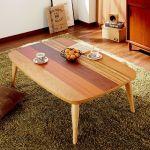 素敵なこたつテーブルで、一人暮らしのお部屋に華やかさをプラス♪のサムネイル画像