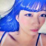 ミステリアスなブルーブラックの髪色で艶やかに!色気もプラスさせてのサムネイル画像