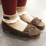 タイツ×靴下の組み合わせが可愛い♡おしゃれは足元からが基本♡のサムネイル画像