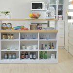 カウンター食器棚は省スペースで収納力抜群の素敵アイテム!のサムネイル画像