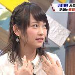 【悲報】AKB川栄李奈がキスマークをつけて「バイキング」に出演?のサムネイル画像