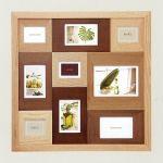 写真にもっとぬくもりを☆木製フォトフレームのあるインテリアのサムネイル画像