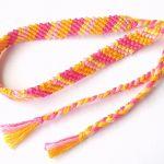 【ミサンガ】ミサンガの斜め編みの編み方【プロミスリング】のサムネイル画像