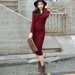 【秋コーデまとめ】秋は大人可愛いニットワンピースがおすすめ♡♡のサムネイル画像