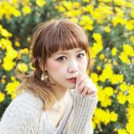 青文字系モデル♡大注目の田中里奈ちゃんのネイルが気になる!のサムネイル画像