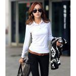 大人かわいい「長袖のポロシャツ」を、たっぷりとご紹介!!のサムネイル画像