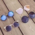 【丸メガネのサングラス】今年の夏は流行の丸メガネサングラス♡のサムネイル画像