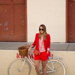 【ショートパンツスーツ】夏はショートパンツスタイルのスーツ♡のサムネイル画像
