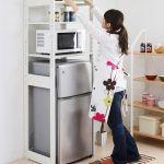 ニトリのアイテムを使って冷蔵庫周りを収納スペースに変えよう!のサムネイル画像