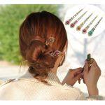 ゴムを使わないまとめ髪☆スティックを使ったこなれヘアに♪のサムネイル画像