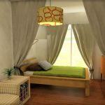 カーテン活用法☆空間の間仕切りで、ワンランク上のオシャレを♪のサムネイル画像