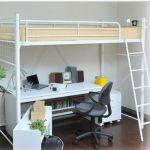【階段付ロフトベッド】でお部屋を広く快適に!空間をうまく使おう!のサムネイル画像
