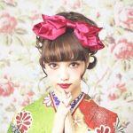 ロングヘアで袴に合う髪型はこれ!大人ヘアアレンジ大特集!のサムネイル画像
