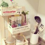 キッチンのすき間収納は100均の小物で簡単DIYしてみませんか??のサムネイル画像