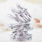 かわいくておしゃれな「ピンクダイヤモンドの指輪」でHAPPYに♡のサムネイル画像