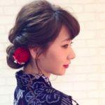 お祭りには?和美人風のヘアースタイルで!浴衣におすすめヘアを提案のサムネイル画像