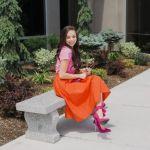 【オレンジカラーの洋服】思い切ってオレンジカラーに挑戦っ。のサムネイル画像