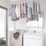 洗濯物をきれいに室内干しする方法と便利な室内干しグッズのまとめのサムネイル画像