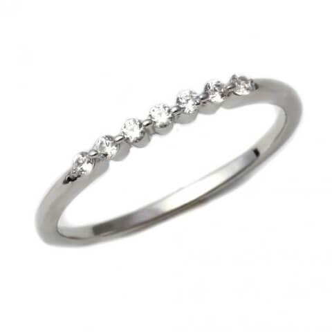 スワロフスキー結婚指輪