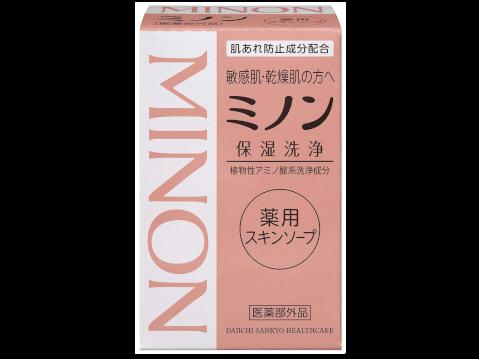 ミノン_ミノン薬用スキンソープ