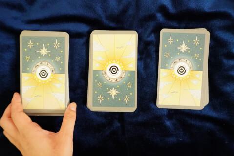 タロットカード-カット