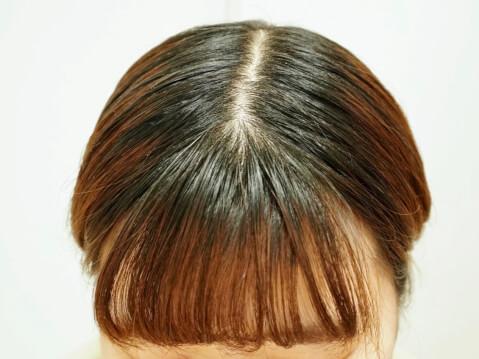 まとめ髪スティック-使用後