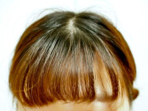 アホ毛-髪の毛