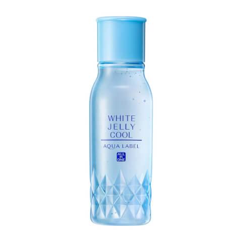 美白冷感ジュレ ホワイトジュレ アクアレーベル クリーム オールインワン 美白 青 乳液 化粧水 成分 赤