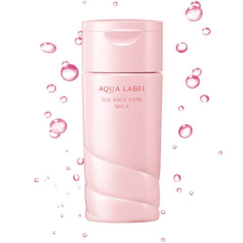 バランスケアミルク アクアレーベル クリーム オールインワン 美白 青 乳液 化粧水 成分 赤