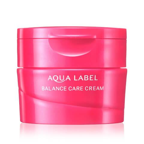 バランスケアクリーム アクアレーベル クリーム オールインワン 美白 青 乳液 化粧水 成分 赤