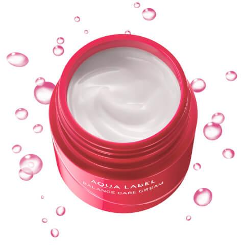 アクアレーベル クリーム オールインワン 美白 青 乳液 化粧水 成分 赤