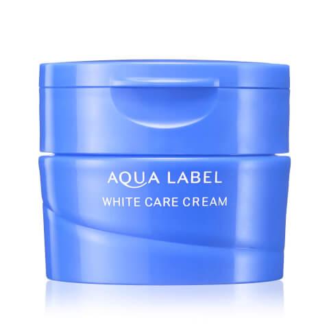 ホワイトケアクリーム アクアレーベル クリーム オールインワン 美白 青 乳液 化粧水 成分 赤