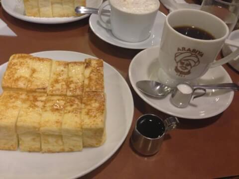 アラビヤコーヒー 難波 大阪 純喫茶 おすすめ