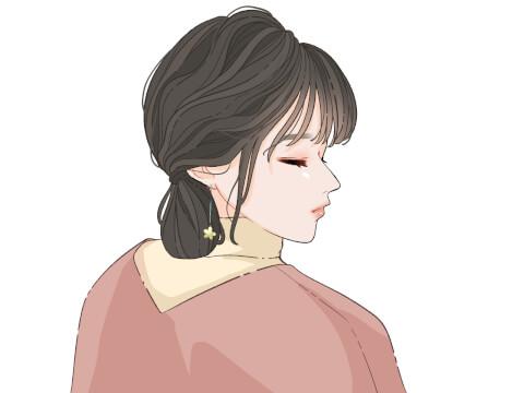 ねじりシニヨン