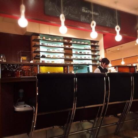 coffee bar Blue Mountain 横浜 東口 カフェ おすすめ おしゃれ
