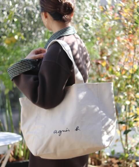 トートバッグ おすすめ ブランド アニエスべー 定番バッグ