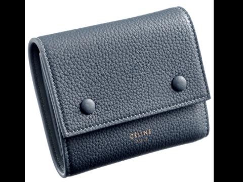 セリーヌ 三つ折り財布