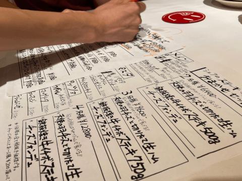 横浜チーズカフェの豊富なメニュー