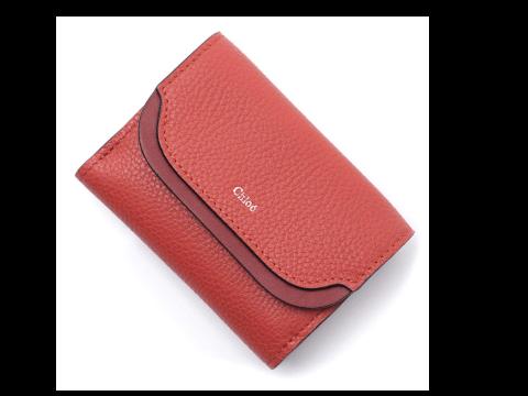 クロエ 三つ折り財布 ファッションアイテム