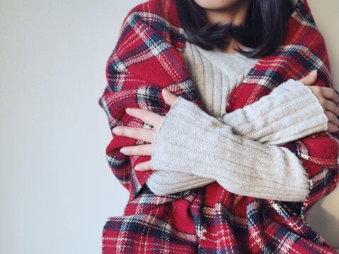 女性 ストール 冷え 対策 寒い
