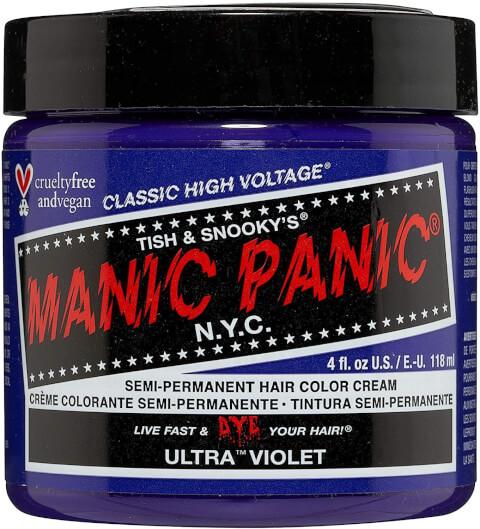 マニックパニック マニパニ ヘアカラートリートメント 使い方 ピンク 白髪  おすすめ 市販 黒 アッシュ ピンク