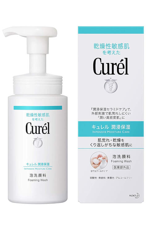 curel forming wash