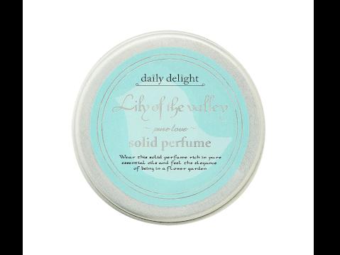 デイリーデイライト ソリッドパフューム 練り香水