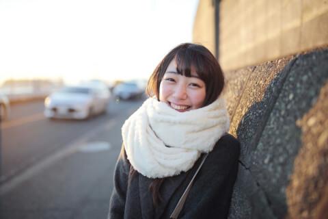 彼女 かわいい 笑顔