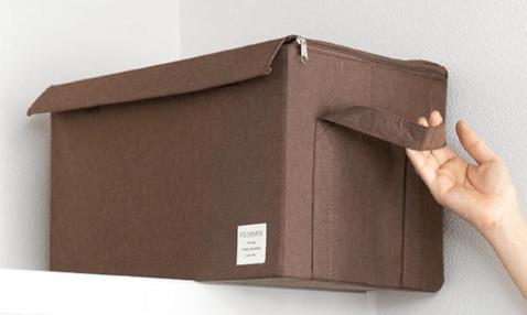 布製の収納ボックス