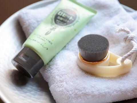 洗顔 ブラシ 筆タイプ