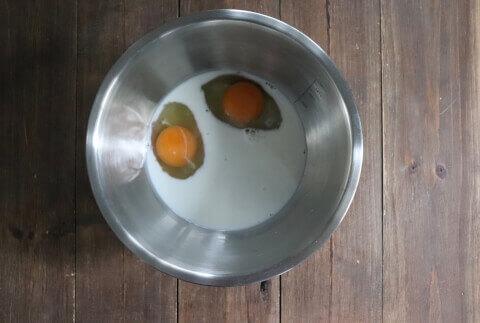 卵 チョコバナナガトーインビジブル